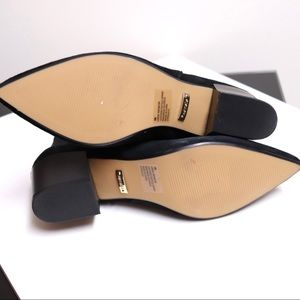 Kensie Shoes - KENSIE Lokia Black Suede Stretch Ankle Booties